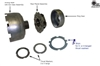 "12780-Z 904, TF6, A500, 42RH, RE .010"" rear end play shims, use with 3 or 4 tab washers."