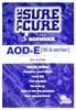 SC-AODE AODE-4R70W sure cure transmission reconditioning kit 1992-95