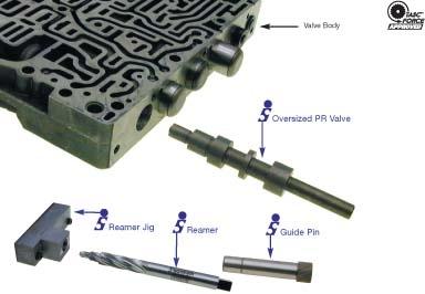 zf4hp14 18 oversize pressure regulator valve sonnax 85991 01 rh transmissionpartsusa com Truck Manual zf4hp14 repair manual download