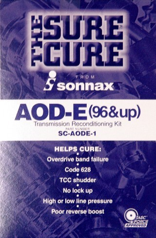 SCAODE1 SONNAX TRANSMISSION RECONDITIONING KIT 1996-UP AODE FORD