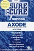 SC AXOD AXODE transmission, Sure Cure reconditioning kit.