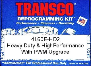 35935-HD2 4L60E-HD2 Transmission performance reprogramming kit 1993-03,   500 boost valve included