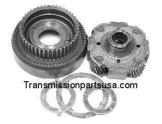 53816K A500 42RE A904 Transmission Front Planetary (4 Gear Steel Cage with  Ring Gear)