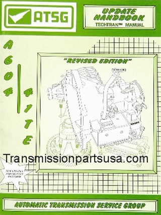 57TM01 A604 41TE Transmission Update manual-CD ONLY