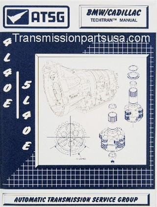 80TM00 4L40 5L40 Transmission repair manual