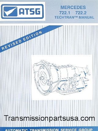 mercedes 722 1 722 2 transmission repair manual atsg transmission rh transmissionpartsusa com Turbo Hydra -Matic GM Turbo 400 Transmission Diagram