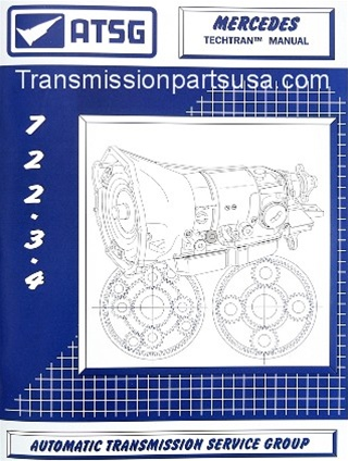 85TM01 Mercedes 722 3 & 722 4 ATSG Transmission repair manual (CD only)