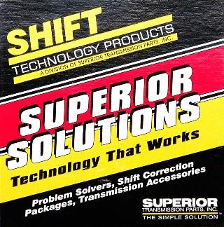 Superior transmission products Superior transmission parts